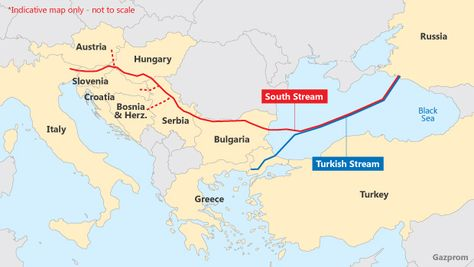 Gazprom increases Turkish Stream investment estimate to $7bn