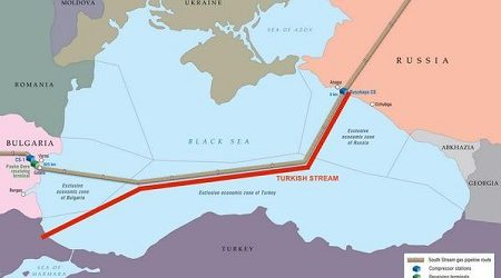 Gazprom to Start Construction of Turkish Stream in Summer of 2017