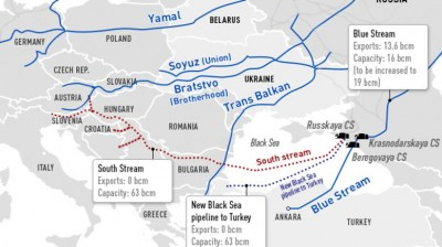 turkish stream route