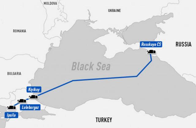 Греция настаивает на прокладке «Турецкого потока» по своей территории