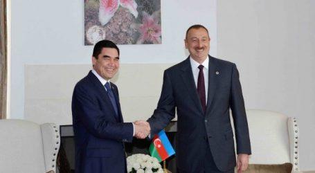 Алиев и Бердымухамедов обсуждают стратегию взаимодействия