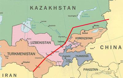 Yayda Turkmənistan-Çin boru kəmərinin özbək xəttinin inaşasına başlanacaq