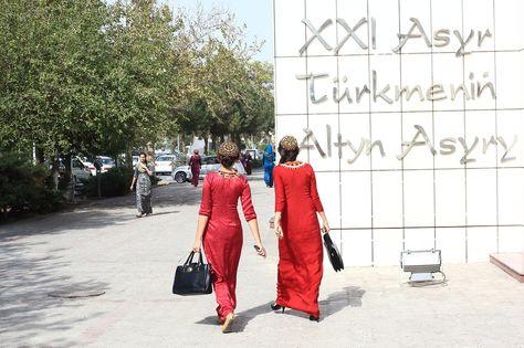 В газовом Туркменистане население жалуется на газ