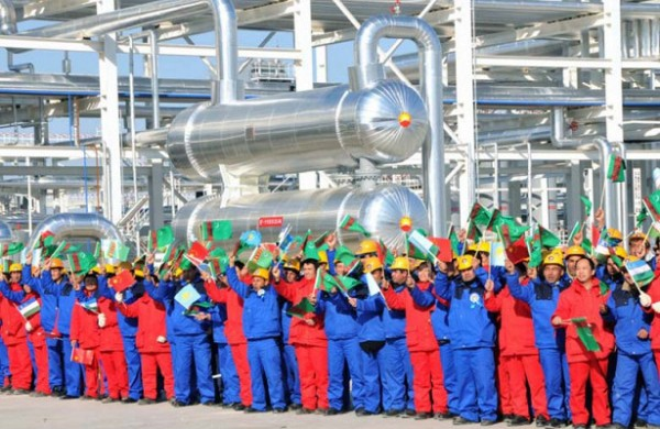 The oil gas chemical industry develops in Turkmenistan