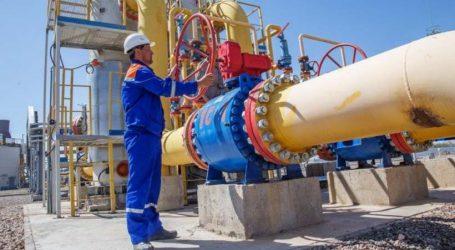 Экспорт узбекского газа в Китай сократился в 3 раза