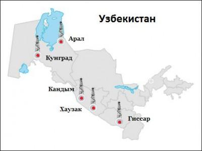 Узбекистан увеличил добычу газа на 6%