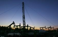 Workover on the Siberian oil field.