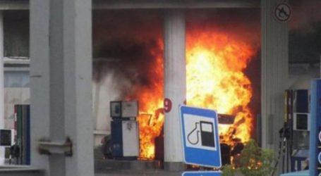 В Гяндже произошел взрыв на автозаправке
