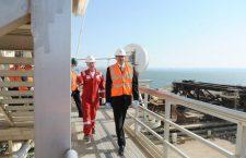 Çıraq neft platforması üzrə xidmət müqaviləsi uzadıldı