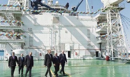 Судно «Ханкенди» спущено сегодня на воду в Баку