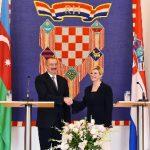 """Xorvatiya prezidenti: """"Zaqreb CQD layihəsinin iştirakçısı olmaq istəyir"""""""