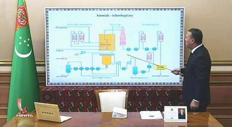 В Туркменистане построят газохимический завод по производству аммиака и метанола